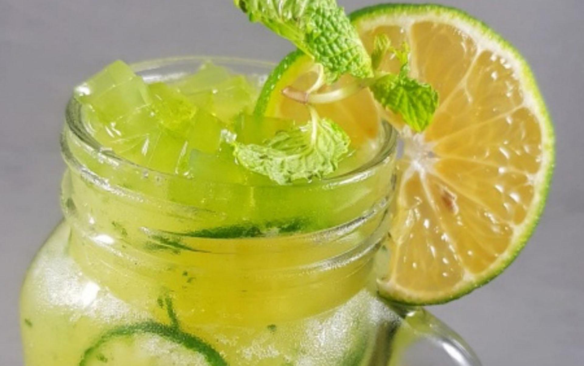 Dalandan Cucumber Mocktail